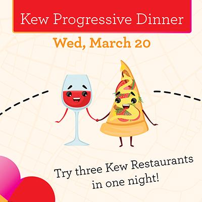 Kew Junction Progressive Dinner