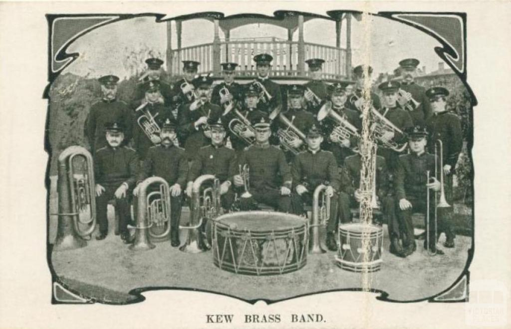 Kew Brass Band -   Source: Victorian Places